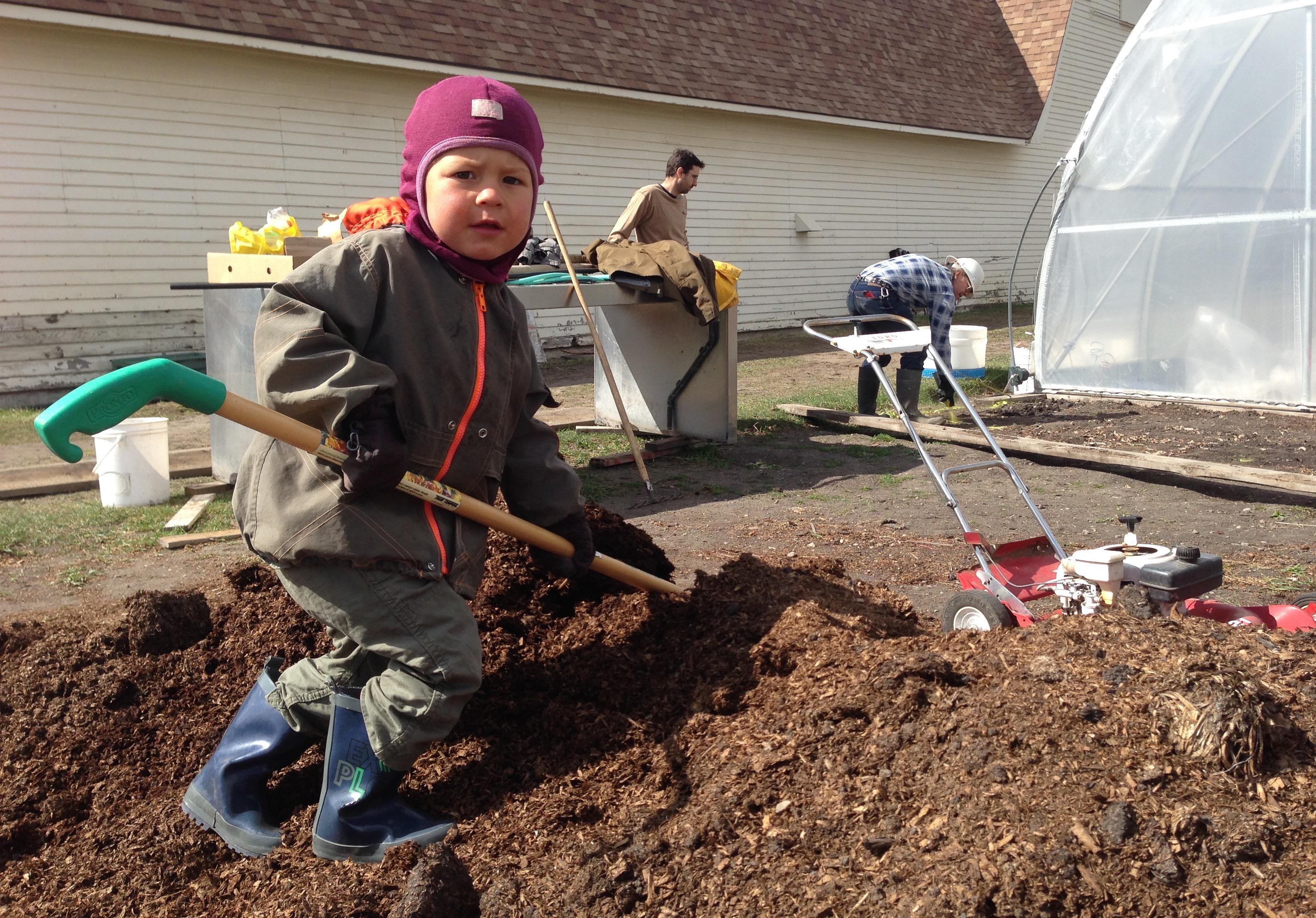 Gardener in Training